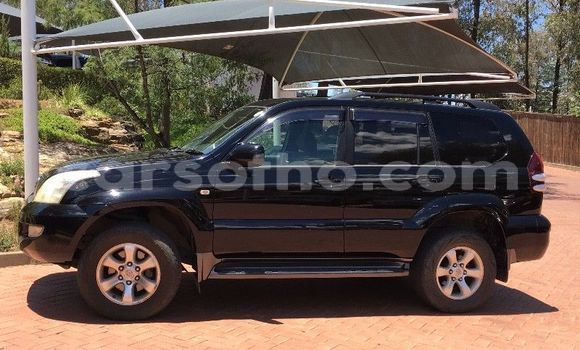 Buy Used Toyota Land Cruiser Black Car in Maseru in Maseru