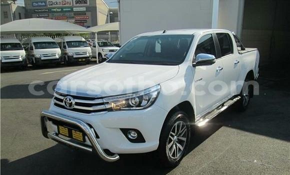 Buy Used Toyota Hilux Surf White Car in Maseru in Maseru