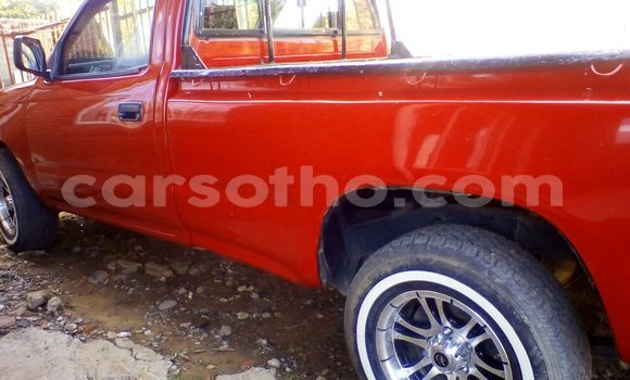 Buy Used Toyota Hilux Red Car in Maputsoe in Leribe