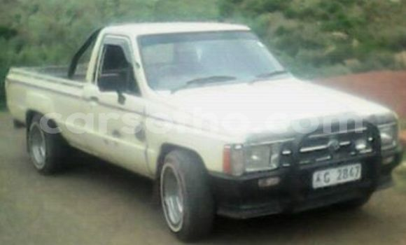 Buy Used Toyota Hillux White Truck in Maseru in Maseru
