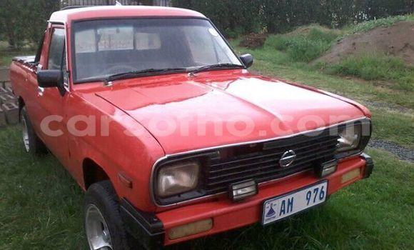 Buy Used Nissan Pickup Red Car in Maseru in Maseru