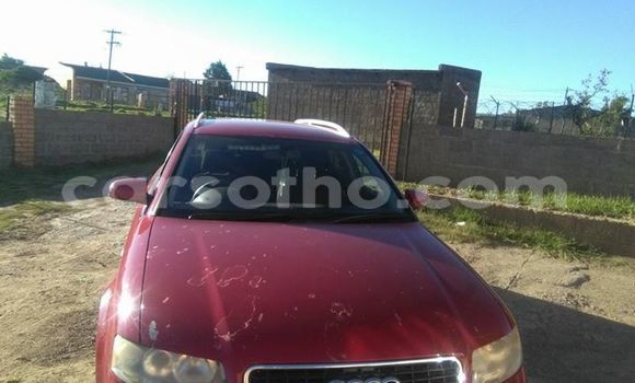 Buy Used Audi A4 Red Car in Maseru in Maseru