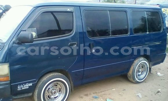 Buy Used Toyota Hiace Blue Car in Maseru in Maseru