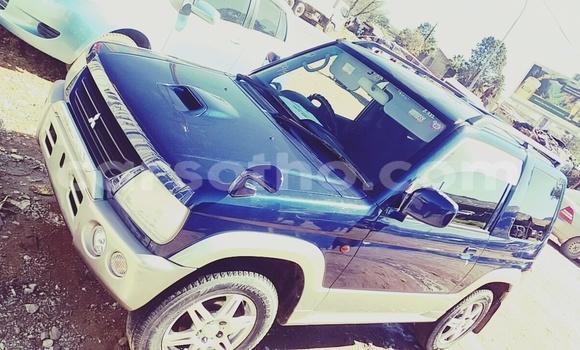 Buy Used Mitsubishi Pajero Blue Car in Maseru in Maseru