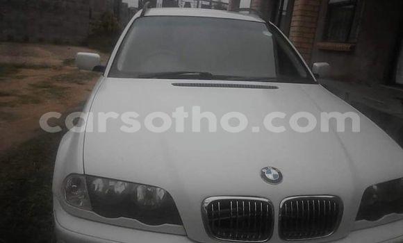 Buy Used BMW 3–Series White Car in Maputsoe in Leribe
