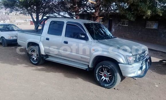 Buy Used Toyota Hilux Silver Car in Maseru in Maseru