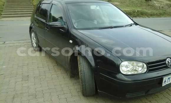 Buy Used Volkswagen Golf Black Car in Maseru in Maseru