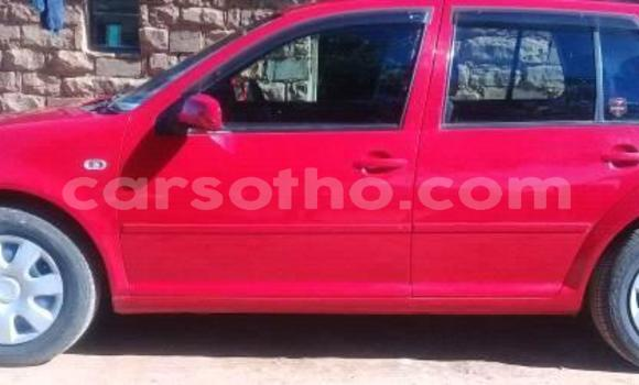 Buy Imported Volkswagen Golf Red Car in Maseru in Maseru