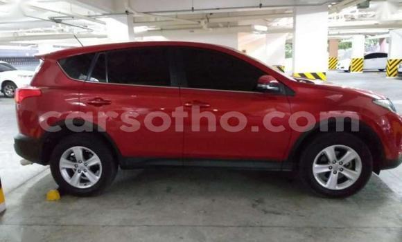Buy Used Toyota RAV4 Red Car in Hlotse in Leribe