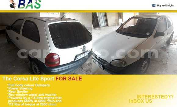 Buy Used Opel Corsa White Car in Maseru in Maseru