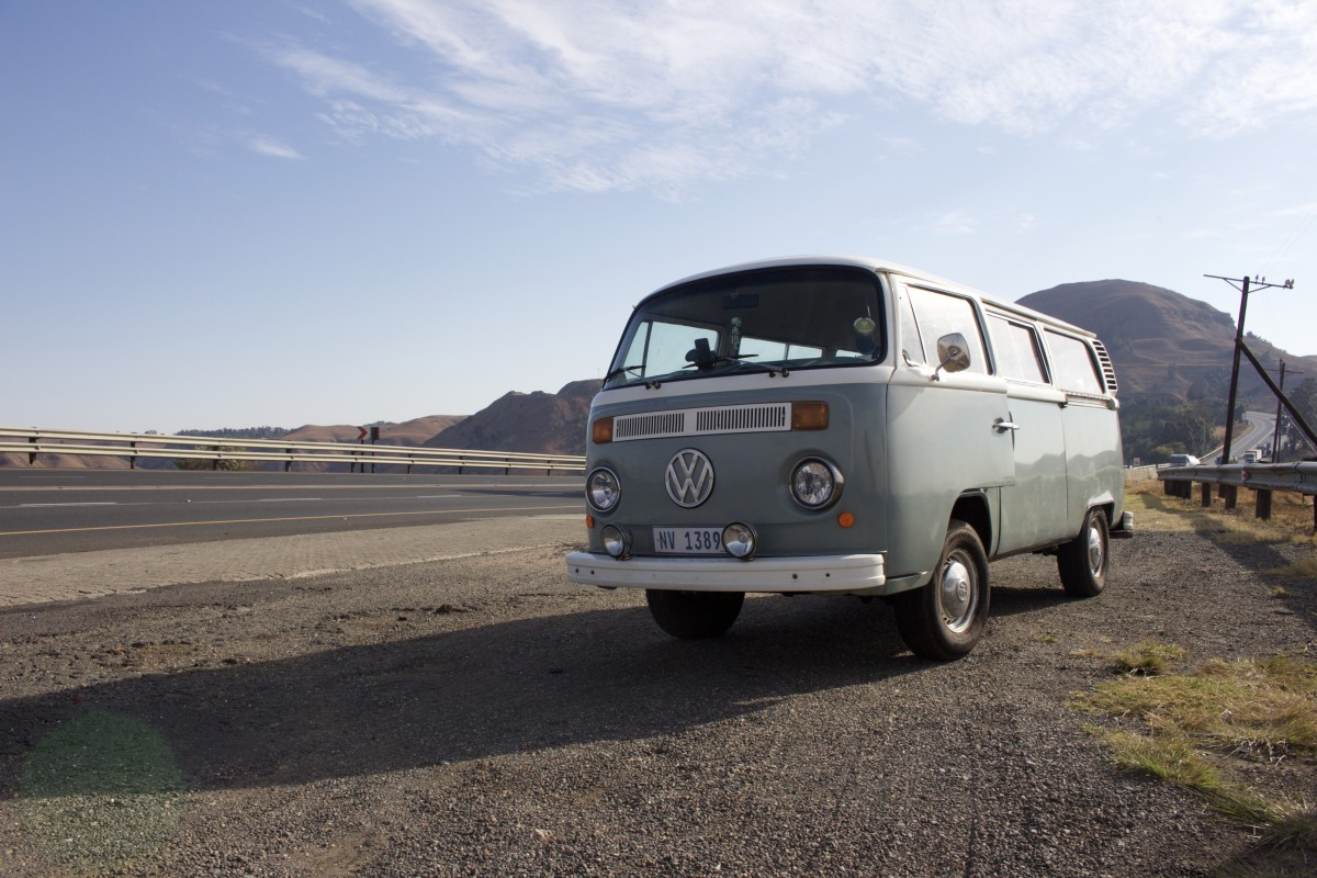 South africa road trip volkswagen vintage vehicle scenery mountain van reenens pass 1166313.jpg d